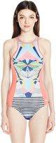 Roxy Women's Keep It Fashion One Piece Swimsuit