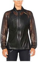 2XU Women's GHST Membrane Jacket - Black/Gold Jackets
