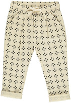 Rylee + Cru Graphic Trousers Ivory