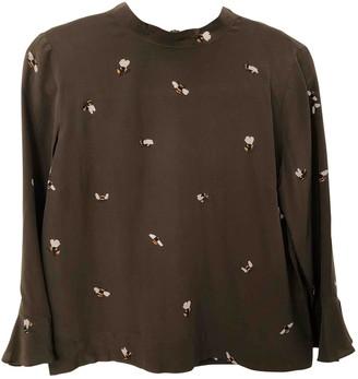 Stine Goya Brown Silk Tops