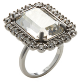 Swarovski Shourouk Square Cocktail Ring