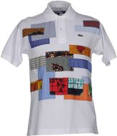 JUNYA WATANABE COMME DES GAR ONS MAN FOR LACOSTE Polo shirts