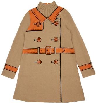 Burberry Wool & Cashmere Dress