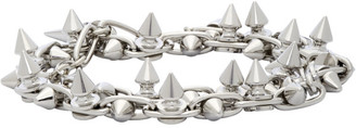 Junya Watanabe Silver Stud Wrap Bracelet