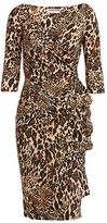 Chiara Boni Florien Animal Print Dress