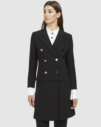 ARIS - Women's Black Blazers - Convertible Blazer Coat - Size One Size, XS at The Iconic
