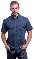 Lee Men's Classic-Fit Patterned Stretch Button-Down Shirt