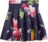 Ted Baker Girls Printed Scuba Skirt