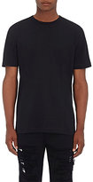 Hood by Air Men's Laser-Cut Cotton T-Shirt-BLACK