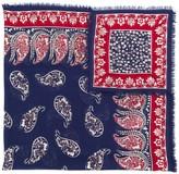 Gucci paisley print shawl