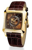 Just Cavalli Men's R7251106055 Blade Quartz Brown Dial Watch
