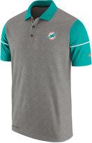 Nike Men's Miami Dolphins Sideline Polo Shirt