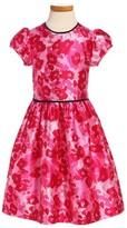 Oscar de la Renta Toddler Girl's Wild Roses Mikado Party Dress