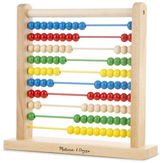 Melissa & Doug NEW Classic Toy Wooden Abacus