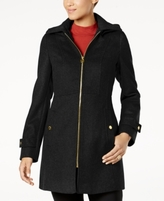 MICHAEL Michael Kors Petite Zip-Front Walker Coat