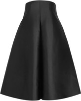 SOLACE London Camilla strapless duchesse-satin dress
