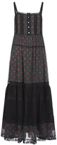 Marc by Marc Jacobs Women's Cherry Pindot Voile Dress Black