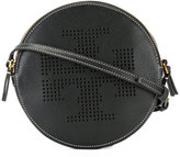 Tory Burch perforated logo shoulder bag - women - Leather - One Size