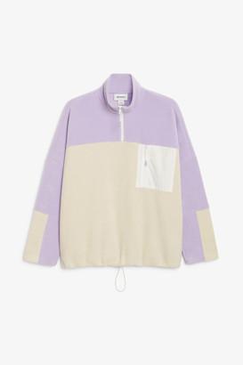 Monki Fleece pullover