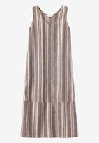 Toast Ticking Stripe Sleeveless Dress