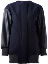 Tsumori Chisato contrast sleeve jacket