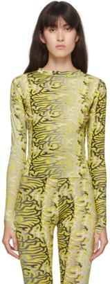 MAISIE WILEN Yellow Body Shop T-Shirt
