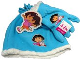 Dora the Explorer 2 pcset -Hat Glove set