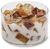 Primal Elements Two Wick Color Bowl Candle, Frosted Gingerbread
