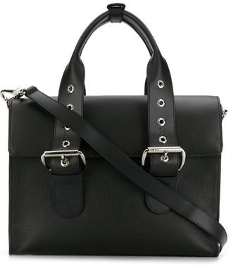 Vivienne Westwood Double Buckle Tote Bag