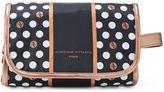 Adrienne Vittadini Studio Polka Dot Hanging Cosmetic Bag
