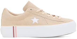 Converse ONE STAR PLATFORM SEASONAL OX SNEAKERS