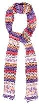 Missoni Pattern Knit Scarf