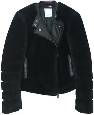 J. Lindeberg Black Fur Jacket for Women