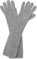 Johnstons Ladies Burgundy Unique Long Cashmere Gloves