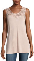 Buffalo David Bitton Crochet Tank Top