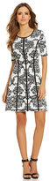 Gianni Bini Blakely Print Dress