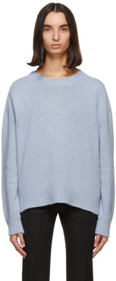 Lanvin Blue Cashmere Sweater
