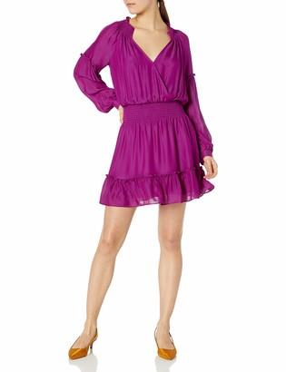 Parker Women's Long Sleeve Smocked Dress