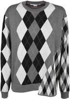 Stella McCartney Mixed Argyle Sweater