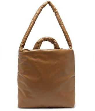 Kassl Editions Oil Medium Padded Tote Bag - Brown
