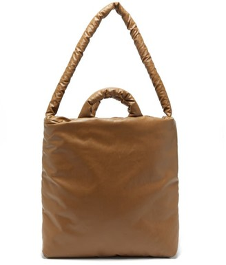 Kassl Editions - Oil Medium Padded Tote Bag - Womens - Brown