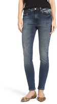 Mavi Jeans Women's Stretch Slim High Rise Ankle Jeans