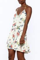 MinkPink Sleeveless Floral Dress