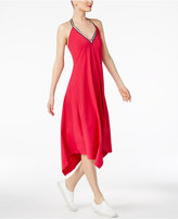 Cynthia Rowley CR By Handkerchief-Hem Halter Dress, Created for Macy's