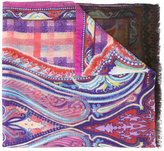 Etro printed scarf - men - Silk/Cashmere - One Size