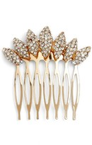 Tasha Flower Petal Crystal Hair Comb