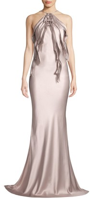 Jason Wu Collection Satin Crepe Gown