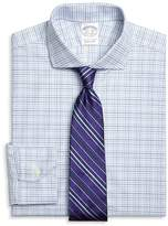 Brooks Brothers Regent Fit Triple Check Dress Shirt