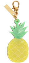 Edie Parker Pineapple Bag Charm, Yellow