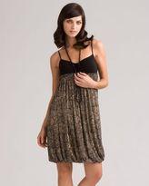 M.s.s.p. print bubble-hem dress